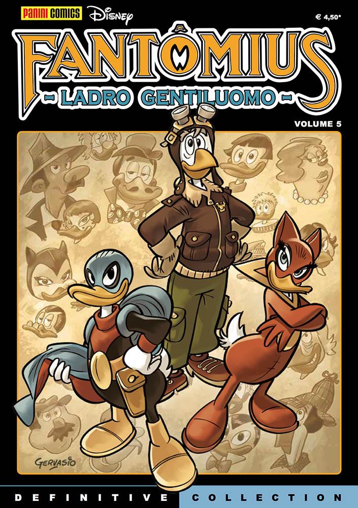 Disney Definitive Collection #23: Fantomius #5