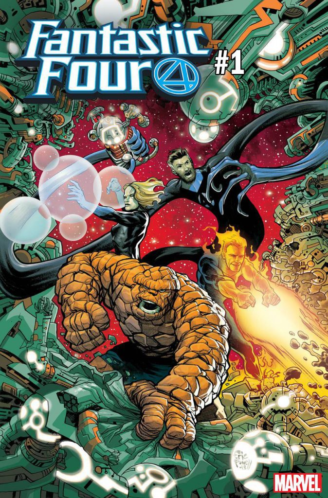 FANTASTIC FOUR #1 POWELL VARIANT