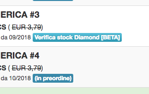 Bottone Verifica stock Diamond