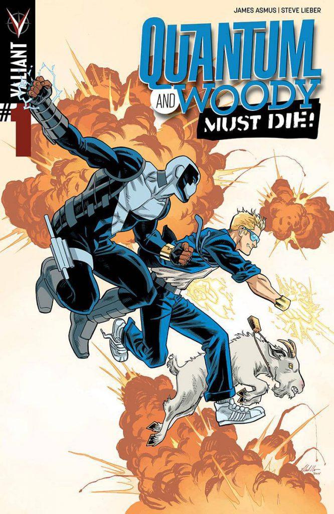 Valiant #85: Quantum & Woody #4 (di 4) - Devono Morire!