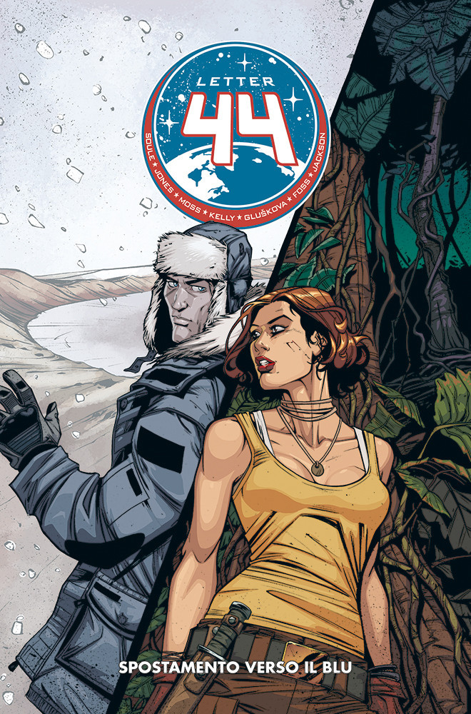 Panini Comics 100% Hd: Letter 44 #5 - Spostamento Verso Il Blu