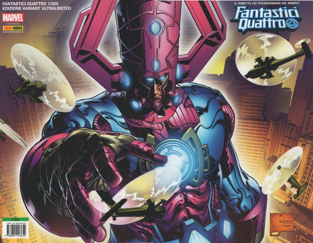 Fantastici Quattro #385: Fantastici Quattro #1 *Ultravariant Pack - Limitato Fino Ad Esaurimento*