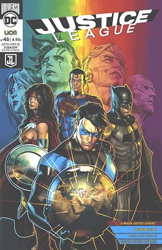 Justice League #46: Rinascita *Variant*