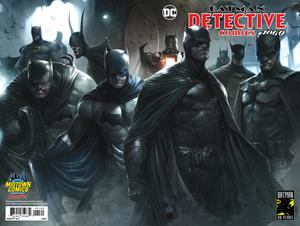 Detective Comics Vol 2 #1000 Midtown Exclusive Cover C Francesco Mattina Wraparound Variant Cover