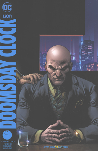 Doomsday Clock #2 *Variant Pin* + Doomsday Clock #2 *Regular*