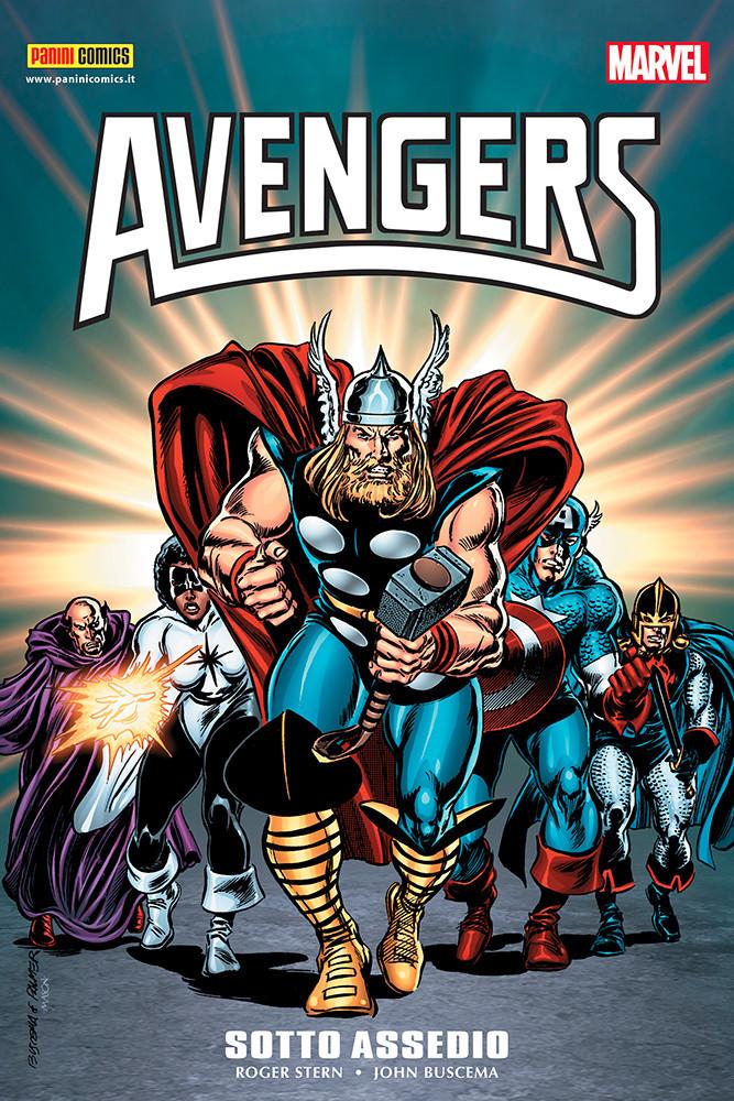 Marvel Omnibus: Avengers - Sotto Assedio