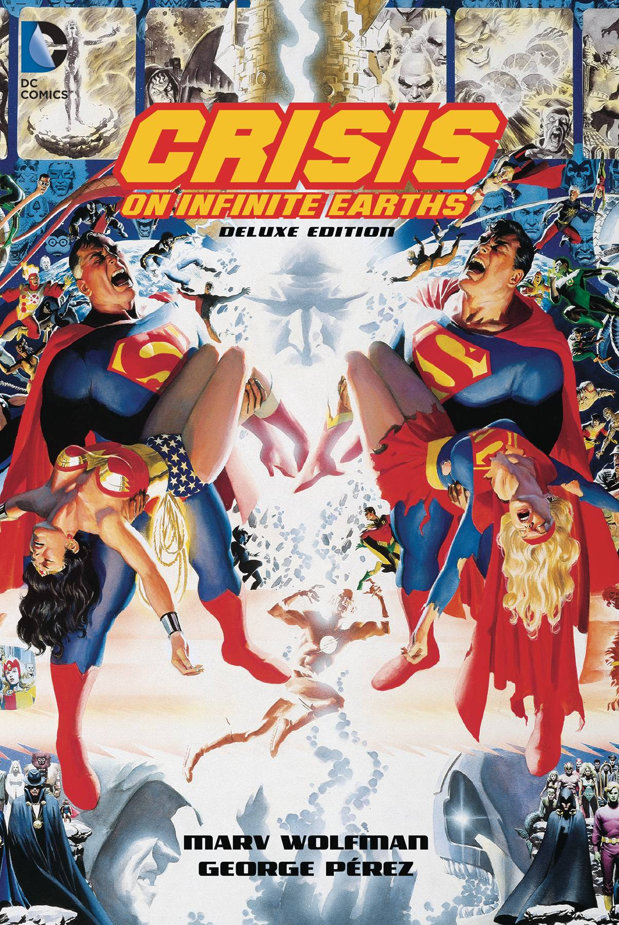 CRISIS ON INFINITE EARTHS 35TH ANNIV DLX ED HC